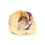 Boulangerie Miyanaga - 自家製鶏パテサンドの断面 '16 3月中旬