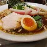 Mugitooribu - 鶏・蛤・煮干SOBA(980円)