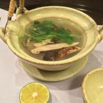 お料理 七草 - 土瓶蒸し 鮑 松茸 伊勢海老