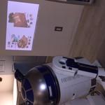 カフェ グリシンヌ - プロジェクターになります サプライズにもぴったり!!