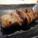 やきとり とり一 - 料理写真:「イベリコ豚カルビ焼き」