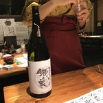 鐵の家 - 【2017.1.4】サービス提供された日本酒。