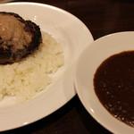 欧風カレーKEN - ルーとハンバーグご飯