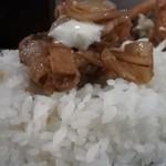 キッチン男の晩ごはん 三鷹 - on the rice!
