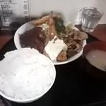 キッチン男の晩ごはん 三鷹 - セレブランチ¥950