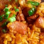 Mahek - 料理写真:ビリヤニのアップ写真。