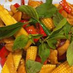 亜州食堂 チョウク - ヤングコーンと豚肉の炒め物(タイ料理)/DinnerMenu