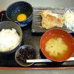 美味卯 - 基本メニュー¥390+鳥のステーキ(塩)¥290