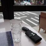ミュゼ オオサカ - ☆お水グラスはこんな感じです(*^^)v☆