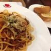 イタリアン・トマト カフェジュニア - 料理写真:選べるパスタランチセット[アンガス牛のポロネーゼ](880円)