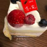季の葩 - スペシャルショートケーキ