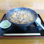 そば処 大和 - 料理写真:鶏もつそば(800円)