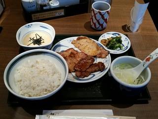 ねぎし コリドー店 - トリプルミックス(990円)