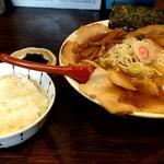麺や 紡 - +小ご飯