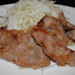 バースト - 豚ロースの生姜焼き