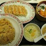 餃子の王将 - 焼めしセット   ¥871