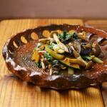 食堂 木洞商店 - 野菜きのこ炒め