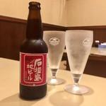 てるてる - ドリンク写真:石垣地ビール美味しい!