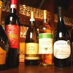 オステリア バルバロッサ - グラスワイン500円~☆ボトルワイン2800円~☆メニューにないワインもございます♪♪