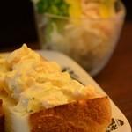 カフェ・モート - タマゴサラダトースト