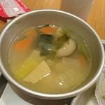 給食当番 - 肉だんごスープ