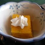 道の駅旭志 旭志村ふれあいセンター ほたるの里 - ・デザートも野菜の美味しさあり