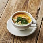 J.S. BURGERS CAFE - 期間限定*ブロッコリーチェダースープ