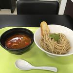 つけ麺 五ノ神製作所 - 海老トマトつけ麺('17/01/12)