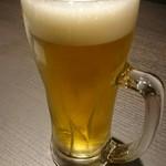 九兵衛 - 生ビール