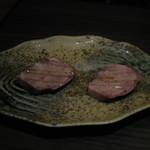 焼肉 よっちゃん - 厚切り上タンステーキ