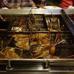 ばん - 料理写真:四角い鍋の中は色々なおでんがたくさん。