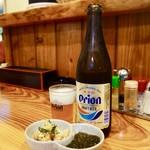 61168865 - [2016/12]お通し(300円) +瓶ビール(550円)
