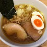 麺屋M - 海薫るそば(750円)+味玉(100円)