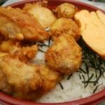 五反田 信濃屋 - 唐揚げ丼+つくね一本+大盛¥660