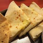 リタ - チーズナンとパーパル