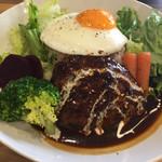 Café de chou chou - ロコモコ丼 980円
