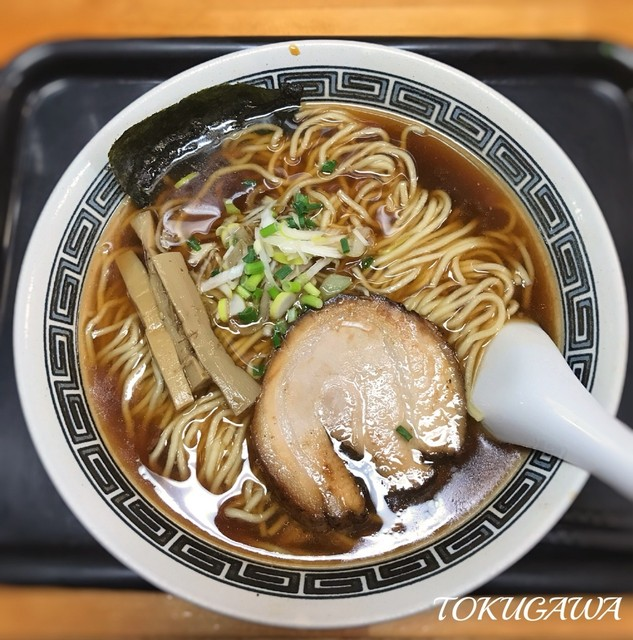 龍月 - 2017年(平成29年)1月 煮干しそば 中