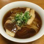 Japanese Soba Noodles 蔦 - 日テレ通販冷凍ラーメン「醤油」(ネギだけ自前)