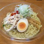 Japanese Soba Noodles 蔦 - サークルKサンクス「冷し塩ラーメン」