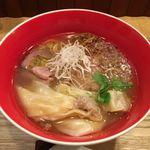 Japanese Soba Noodles 蔦 - 「ワンタン塩Soba」1300円