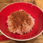 Japanese Soba Noodles 蔦 - 「からすみ茶漬け」
