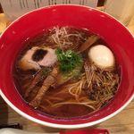 Japanese Soba Noodles 蔦 - 「味玉醤油Soba」1200円