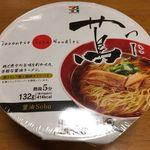Japanese Soba Noodles 蔦 - セブンイレブンにてカップ麺販売