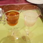 ガネーシュ - 季節ディナーコース(4538円・外税)の食前酒