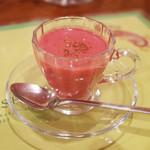 ガネーシュ - 季節ディナーコース(4538円・外税)の根菜のポタージュ クミン風味