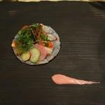 Masahiro - 北海たこと平目のカルパッチョ
