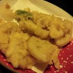 旬彩 こころび - レンコンの天ぷら