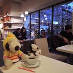 カノコカフェ - コクと酸味のバランスがほど良く、飲みやすい珈琲だね。 ボキら、そんなに京都で珈琲を飲んだわけではないけど お茶の文化がある京都は、 心なしか珈琲も美味しいような気がするなぁ。