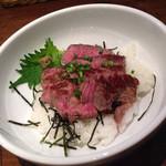 ハンバーグコルム - ステーキ丼 ¥980 ご飯少なめ ¥−50