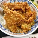 天茂 - 天丼(鱚・穴子)